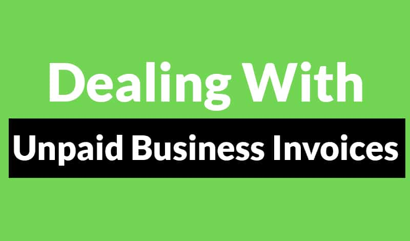 Unpaid Business Invoices 1